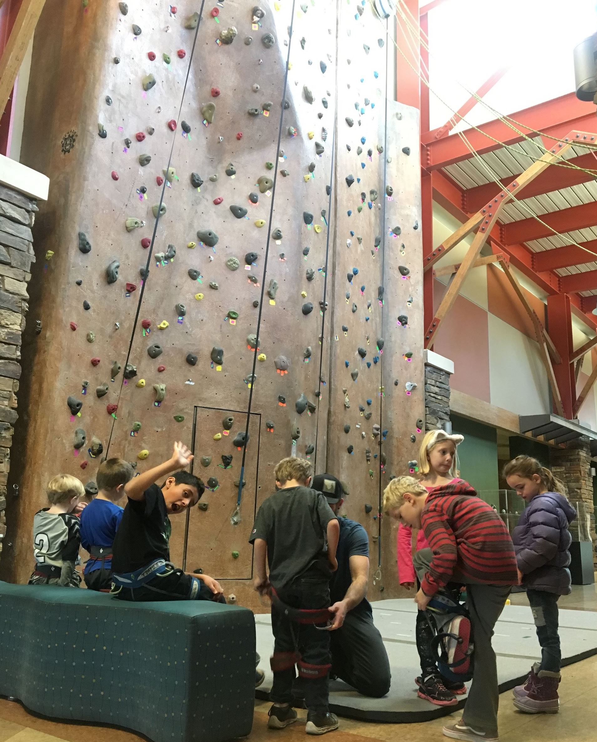 Kids Kamp Climbing Wall Opens in new window